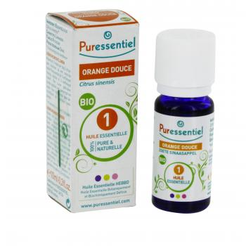 PURESSENTIEL Orange douce bio flacon 10ml - Illustration n°2