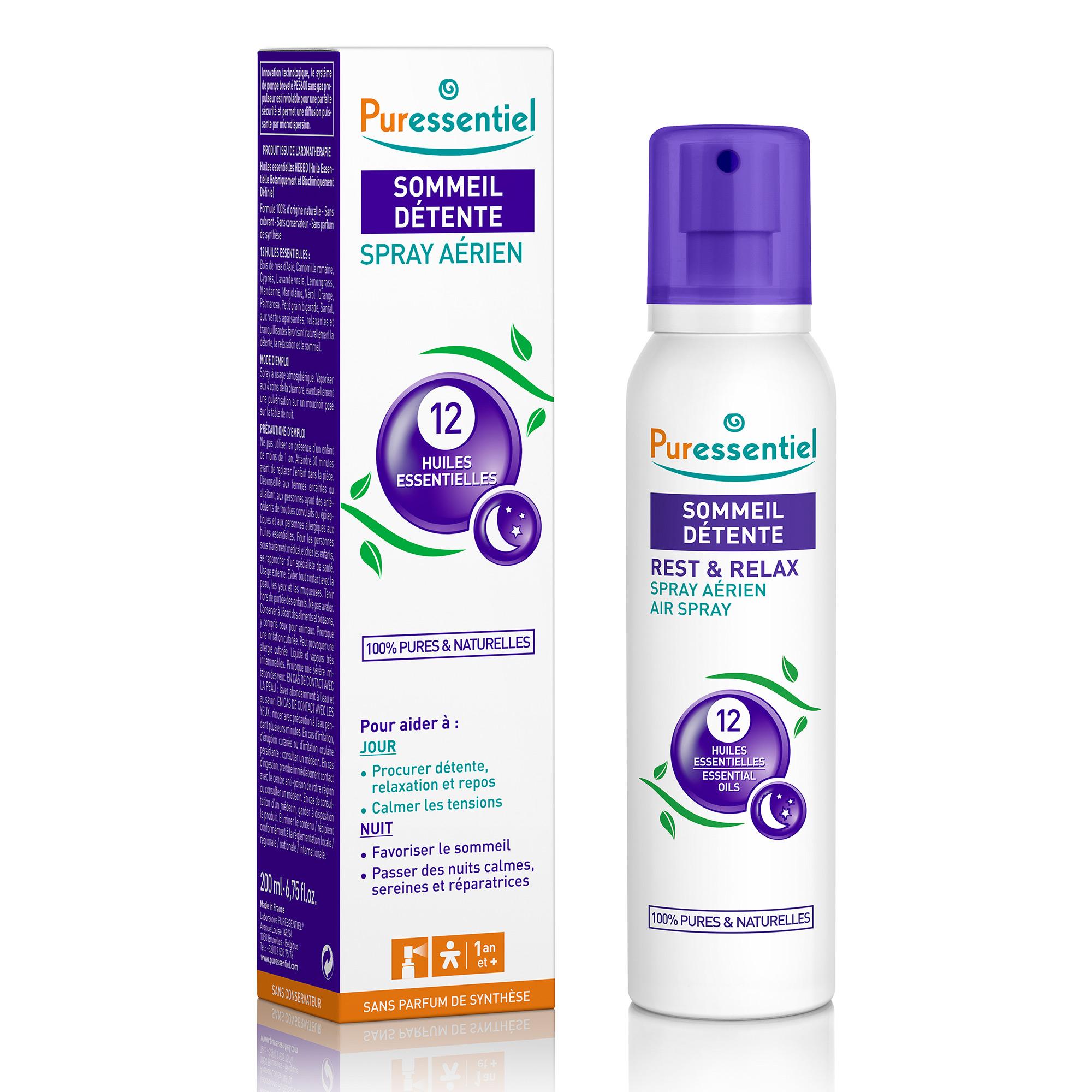 puressentiel spray aerien sommeil detente vaporisateur With chambre bébé design avec fleurs de bach huiles essentielles