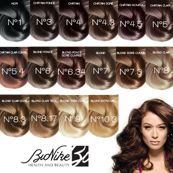 bionike shine on 3 chtain fonc 1 tube coloration 50ml 1 flacon rvlateur 75ml - Coloration Chatain