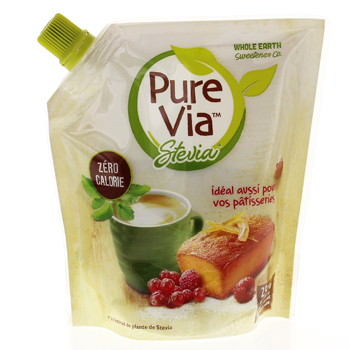 EFFICARE Pure via stevia doypack 250g - Illustration n°1