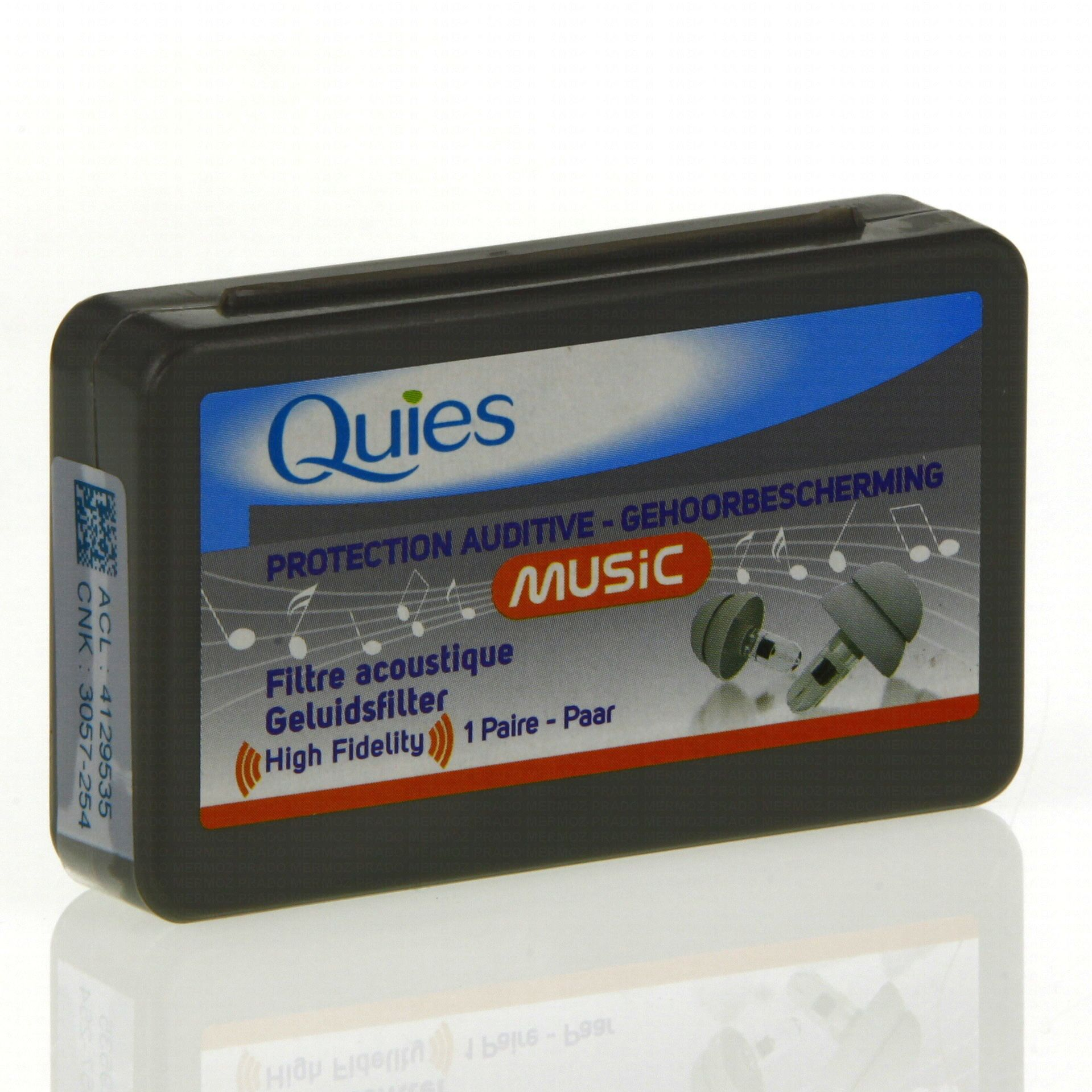 1 paire protections auditives music quies