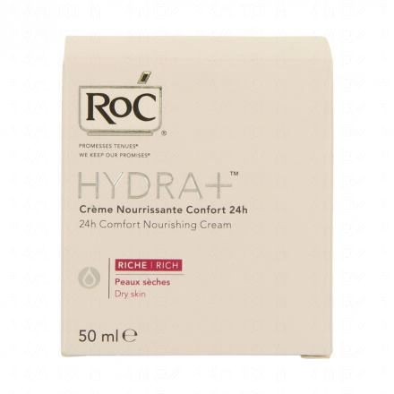 ROC Hydra+ crème nourrissante confort riche pot 50ml  - Illustration n°2