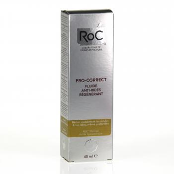 ROC Pro-correct fluide anti-rides régénérant tube 40ml - Illustration n°1