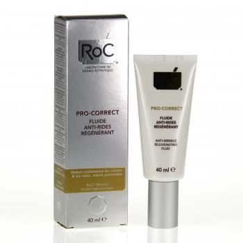 ROC Pro-correct fluide anti-rides régénérant tube 40ml - Illustration n°2