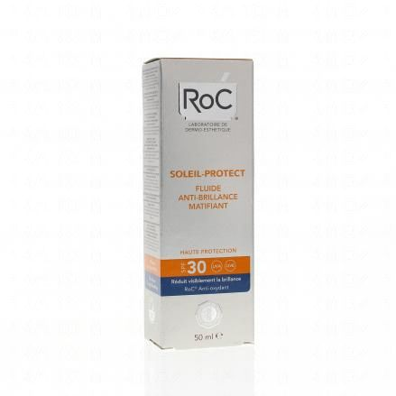 ROC Soleil Protect fluide anti-brillance matifiante SPF 30 tube 50ml  - Illustration n°1