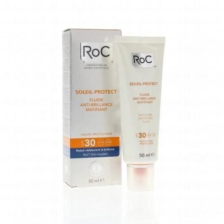 ROC Soleil Protect fluide anti-brillance matifiante SPF 30 tube 50ml  - Illustration n°2