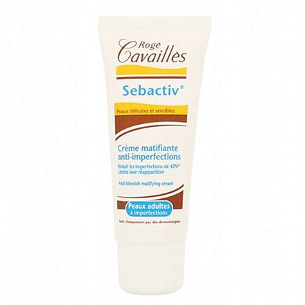 ROGÉ CAVAILLÈS Sebactiv crème matifiante anti-imperfections tube de 40ml - Illustration n°1