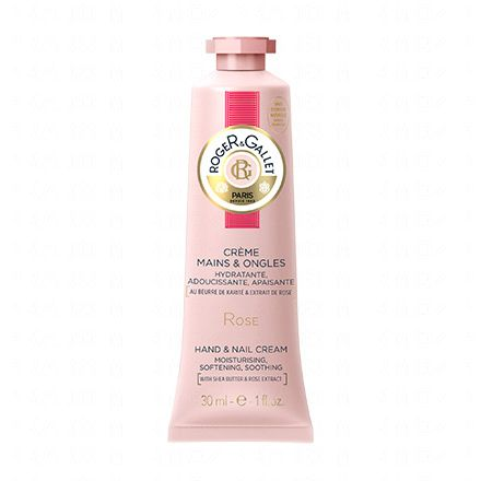 ROGER GALLET Crème Mains & Ongles à la Rose tube 30ml