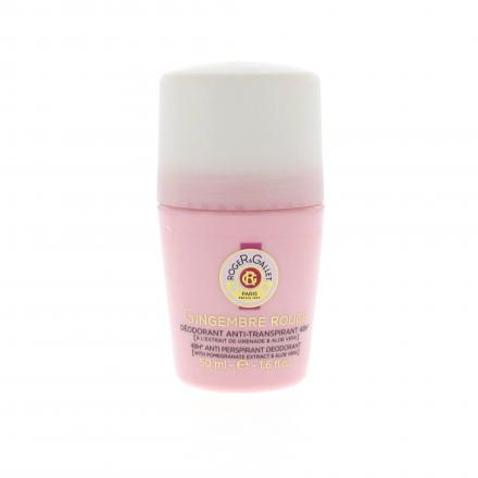 ROGER & GALLET Déodorant Roll-On Gingembre Rouge 50ml - Illustration n°1