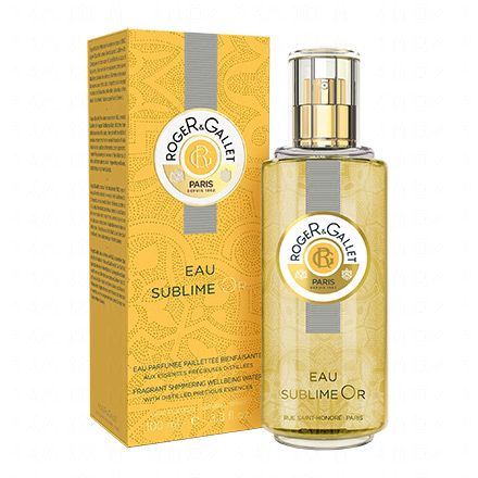 ROGER & GALLET Eau sublime or Bois d'orange vaporisateur 100ml - Illustration n°2
