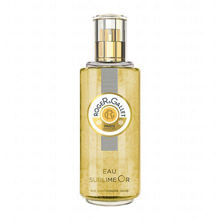 ROGER & GALLET Eau sublime or Bois d'orange vaporisateur 100ml