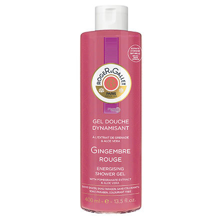 ROGER & GALLET Gel douche Gingembre Rouge dynamisant flacon 400ml