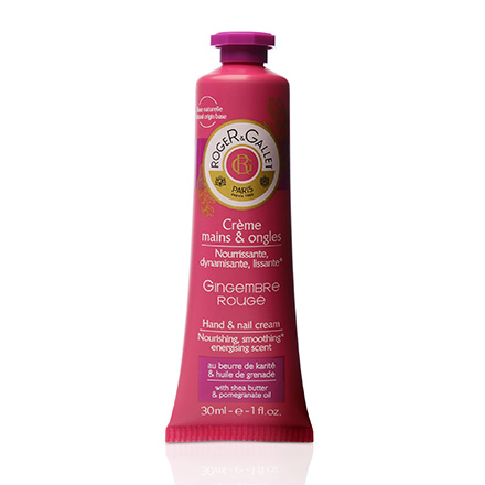 ROGER & GALLET Gingembre rouge crème mains et ongles tube 30ml