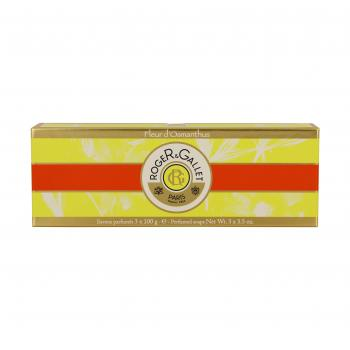 ROGER & GALLET Fleur d'Osmanthus savon parfumé lot de 3 x 100g - Illustration n°2
