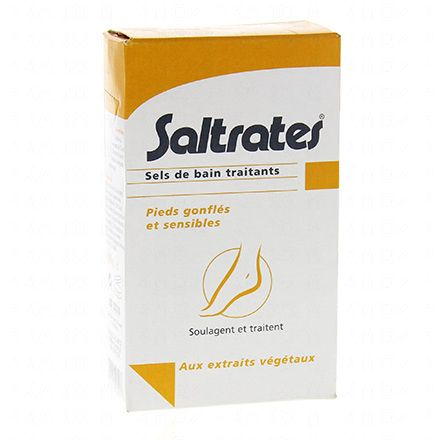 SALTRATES Sels de bain traitants pieds 200g - Illustration n°1