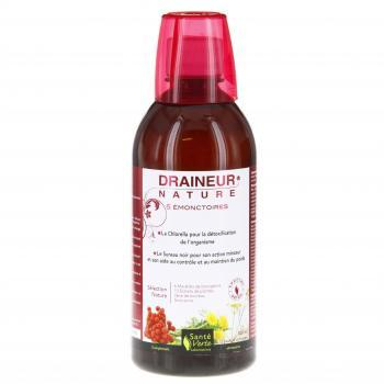 SANTE VERTE Draineur nature 5 émonctoires flacon 500ml - Illustration n°1