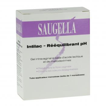 SAUGELLA Intilac rééquilibrant pH 7 monodoses de 5ml - Illustration n°1