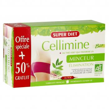 SUPERDIET Cellimine bio 20 ampoules + 10 offertes - Illustration n°1