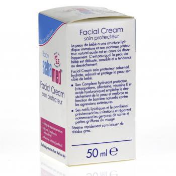 SEBAMED Facial cream flacon pompe 50ml  - Illustration n°3