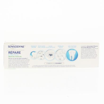 SENSODYNE Dentifrice réparateur quotidien tube 75ml tube 75ml - Illustration n°2