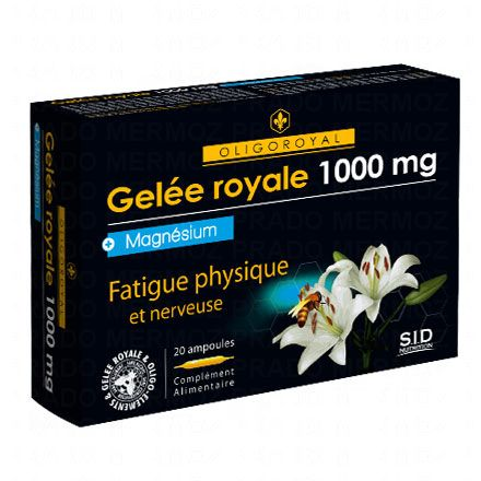 SID NUTRITION Oligoroyal gelée royale 1000mg - magnésium