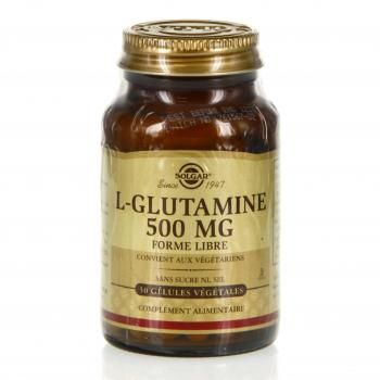 SOLGAR L glutamine 500mg 50 gélules - Illustration n°1