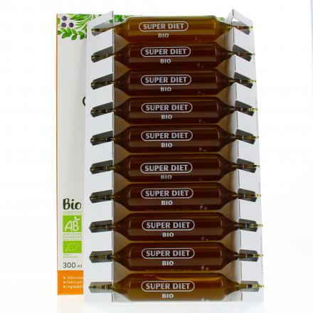 SUPER DIET Chardon marie bio 20 ampoules - Illustration n°2