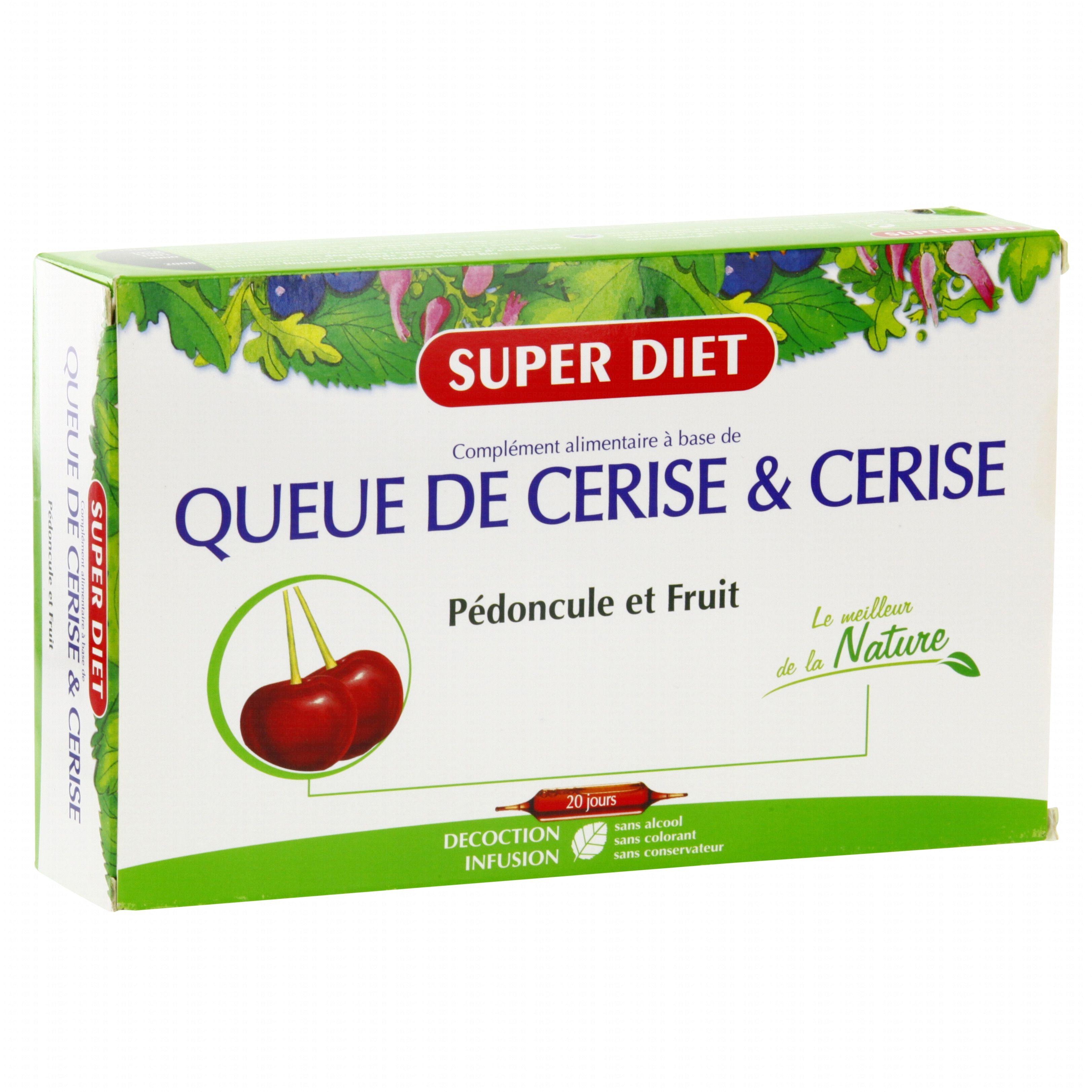 Queue de cerise pour maigrir – Régime pauvre en calories
