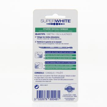 SUPERWHITE Cure dents interdental boite de 150 - Illustration n°2