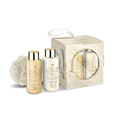 THE LUXURY BATHING COMPANY Coffret Essentiels bergamote