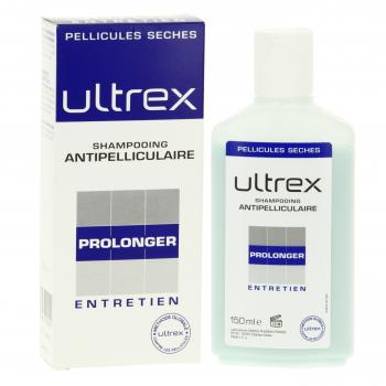 ULTREX Shampooing anti-pelliculaire pellicules sèches entretien flacon 150ml - Illustration n°2