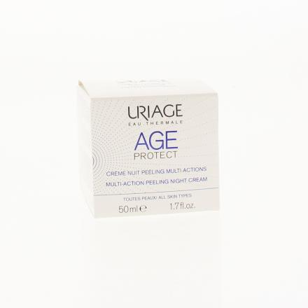URIAGE AGE Protect Crème nuit peeling pot 50ml - Illustration n°1