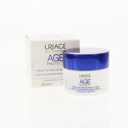 URIAGE AGE Protect Crème nuit peeling pot 50ml - Illustration n°2