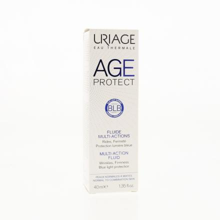 URIAGE AGE Protect Fluide multi-actions flacon pompe 40ml - Illustration n°1