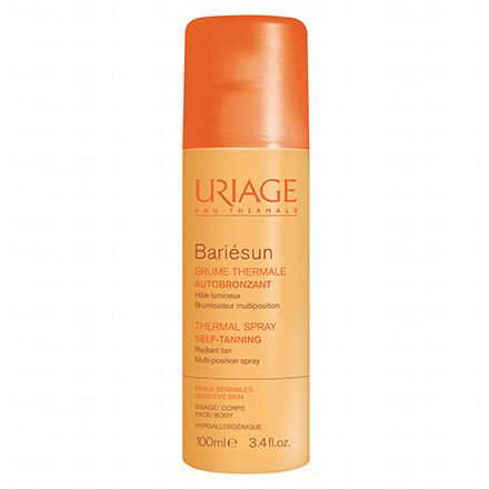 URIAGE Bariésun brume thermale autobronzant spray 100ml