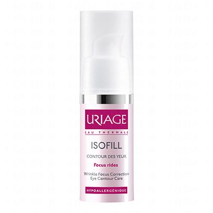 URIAGE Isofill soin focus rides yeux flacon 15ml