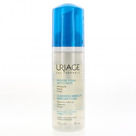 URIAGE  Mousse d'eau nettoyante flacon 150ml  - Illustration n°1