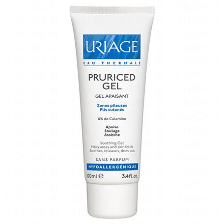 URIAGE Pruriced gel zones pileuses plis cutanés tube 100ml