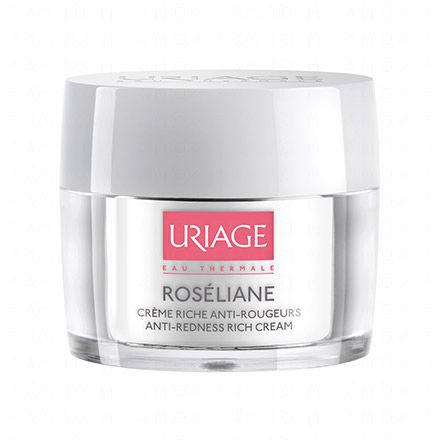 URIAGE Roseliane crème riche anti-rougeurs pot 50ml