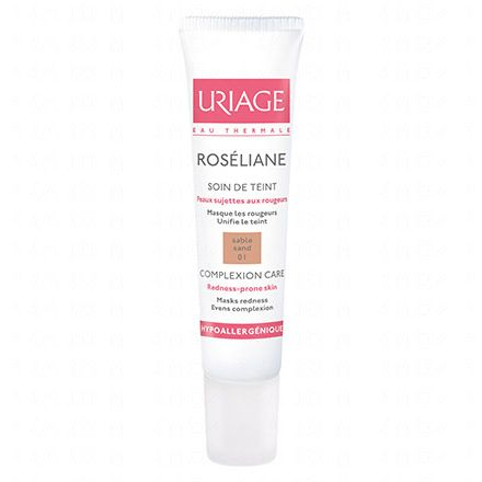 URIAGE Roséliane soin de teint anti-rougeurs teinte 01 sable naturel tube 15ml