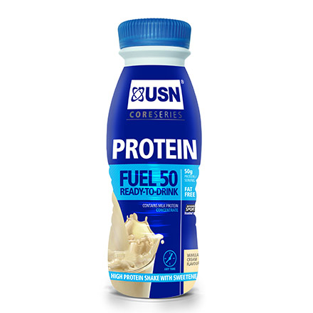 USN Protein Fuel 50 ready-to-drink vanille 500ml