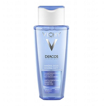 VICHY Dercos minéral doux shampooing doux fortifiant (flacon 200ml)