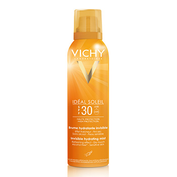 VICHY Idéal Soleil brume hydratante invisible SPF30