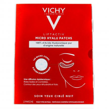 VICHY Liftactiv Micro Hyalu Patchs  patch x 2 - Illustration n°1