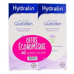 HYDRALIN Quotidien lot de 2 flacons de 400ml