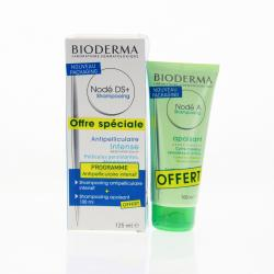 BIODERMA Nodé ds+ anti-récidive 125ml + nodé a offert 100ml un flacon de nod ds + ( 125 ml ) + un flacon offert nodé a ( 100 ml )
