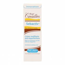ROGÉ CAVAILLÈS Sebactiv crème matifiante anti-imperfections tube de 40ml