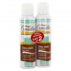 ROGÉ CAVAILLÈS Deo-soin dermato lot de 2 spray de 150ml