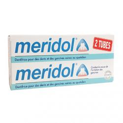 MERIDOL Dentifrice lot de 2 tubes 75ml