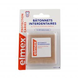ELMEX Protection caries bâtonnets interdentaires 3 x 38